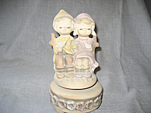 1970's Young Couple Music Box