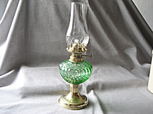 Hand Blown Miniature Oil Lamp