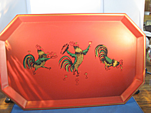 Nashco Painted Tin Tray