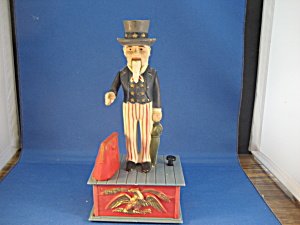 Replica Of Uncle Sam Bank