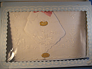Box Set Of Two Handkerchiefs