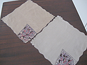 Two Silk Handkerchiefs