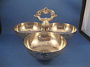 Brass Silver Plated Server