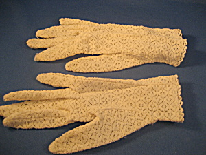 Child's Lace Gloves