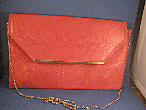 Red 80s Envelope Purse