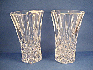 Two Waterford Cut Glass Water Or Juice Glasses