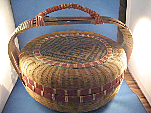 1900 Large Sewing Basket