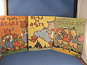 Puss In Boots, Three Little Pigs, And Three Bears Color Book