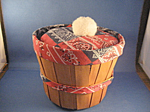 Bandanna Sewing Basket
