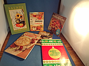 Group Of Six Cook Books