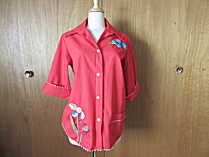 Little House Creations Flower Blouse