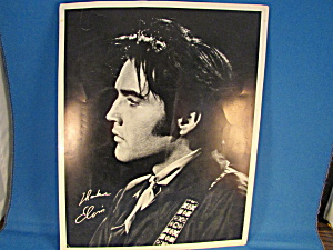 Elvis Promo Photo For The International Hotel