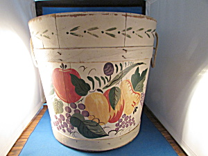 Helen Hume's Painted Bucket