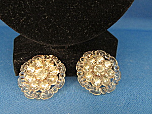 Two Rhinestone Buttons