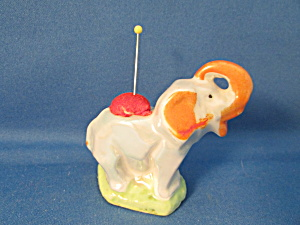 Miniature Elephant Pin Cushion