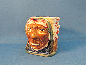 Native American Chief Toby Pitcher