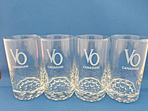 Vo Canadian Whiskey Bar Glasses