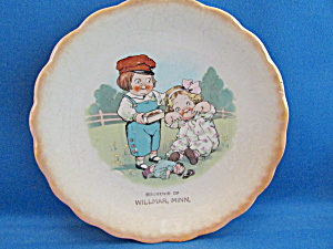 Dolly Dingle And Billy Bumps Souvenir From Willmar, Minn.