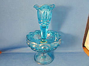 Blue Moon And Stars Epergne