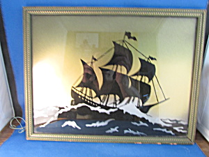 Reverse Glass Nautical Picture
