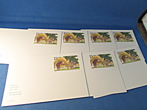 Eight Stanford Centennial Blank Post Cards