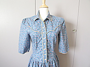 Diamond L Western Prairie Dress