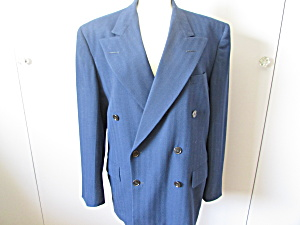 Double Breasted Zoot Suit Jacket