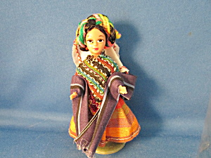 Souvenir Doll From Mexico