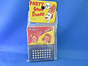 1930s Party Game Board