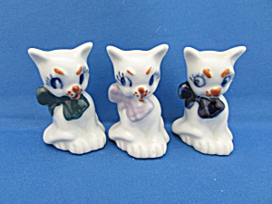 Three Little Kittens Made In Occupied Japan