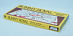Rummy Royal Deluxe Edition Game, Whitman, 1981