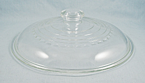 Wagner Ware C 508 Glass Lid - W/ Logo