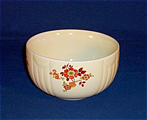 Hall Mixing Bowl -flowers