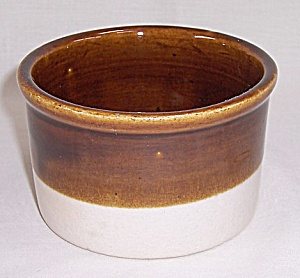 Brown & Beige Crock - Small