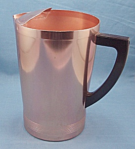 Vintage West Bend - Aluminum Pitcher - Coppertone
