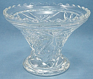 Anchor Hocking Glass Co. - Early American Prescut - Base/stand