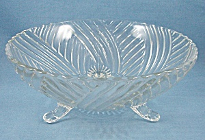 """swirl Rib"" Prismatic Line #979 - Fruit Bowl"