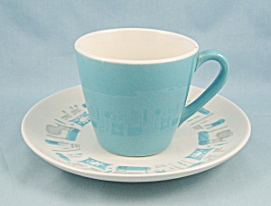 Royal China - Blue Heaven - Cup & Saucer