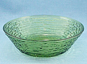 Anchor Hocking - Soreno - Bowl - 1960's Avocado