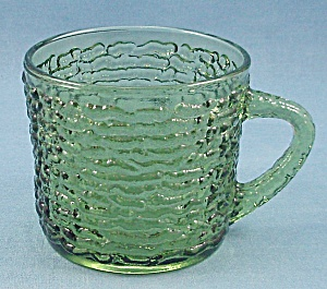 Anchor Hocking - Soreno - Punch Cup - 1960's Avocado