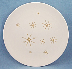Royal China Co. - Star Glow- Gold - Dinner Plate