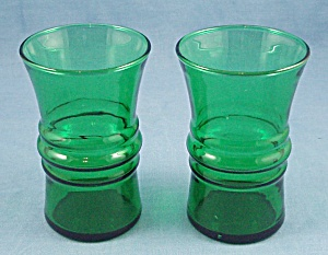 2-forest Green Small Tumblers