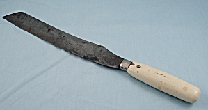 Old Bread Knife - Thomas Mfg. Co. - Dayton, Ohio - 1921 Burns Pat. No.