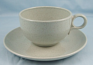 Taylor Smith Taylor - Pebbleford - Cup & Saucer - Granite
