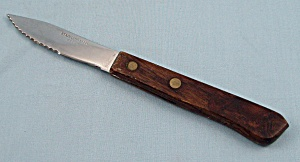 Small Wood Handled Steak Knife