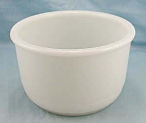 Milk Glass Mixing Bowl