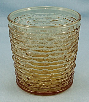 Anchor Hocking - Soreno - Harvest Gold - Old Fashioned Tumbler - 1960's