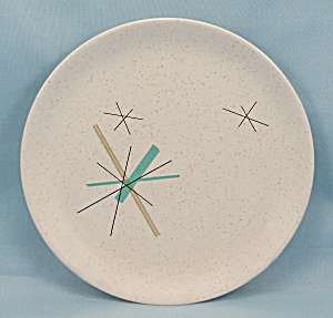 Salem China - Hop Scotch / Hopscotch - Free Form - Viktor Schreckengost - Bread & Butter Plate