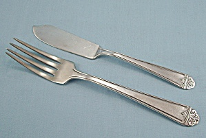Lynbrook Silver Plate Sectional - Fork & Butter Knife