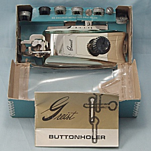 Greist - Buttonhold Stitch Attachment, Style #2 - 1966